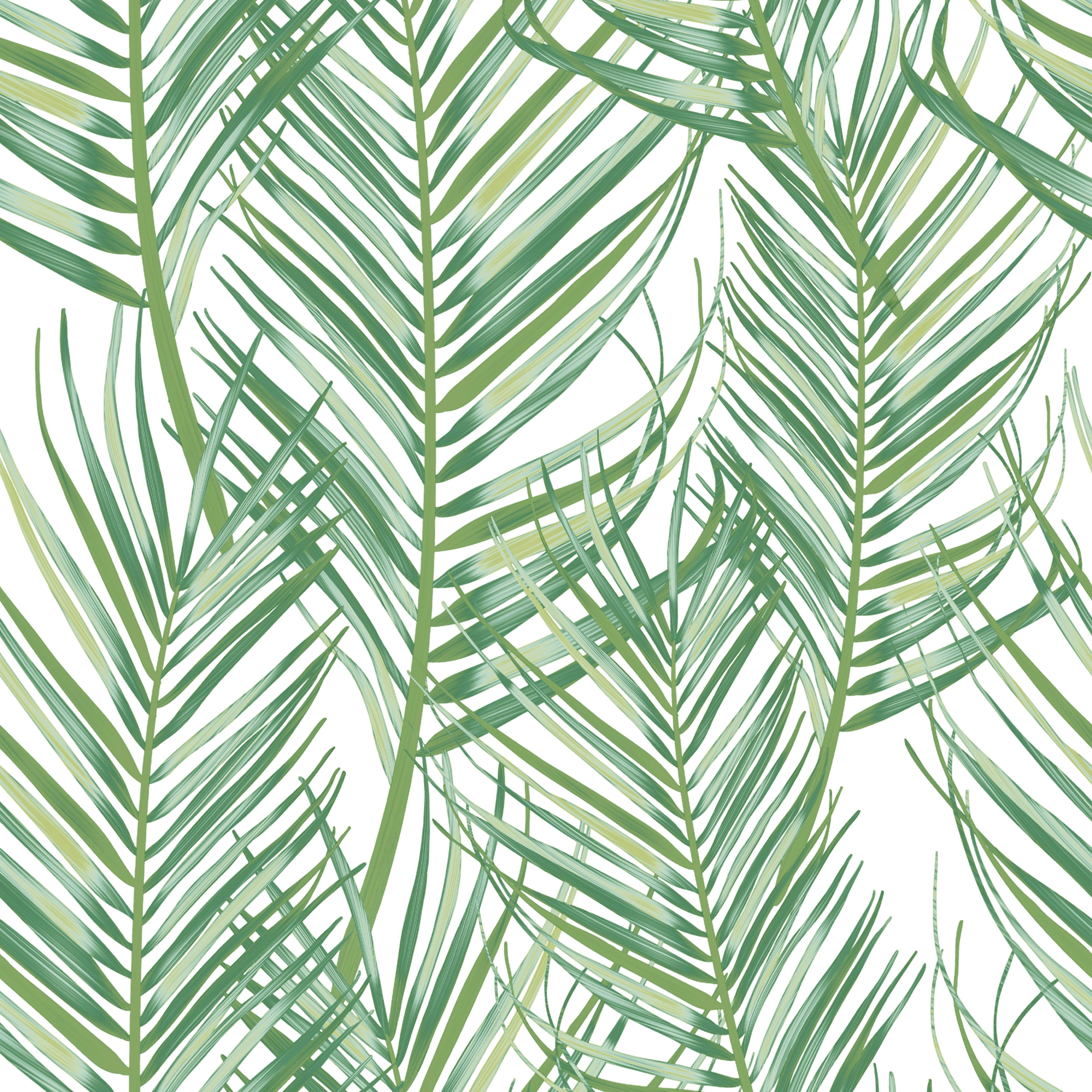 Superfresco Easy Jungle Fever Green Leaves Matt Wallpaper