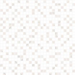 Contour Aurora White Tile Wallpaper