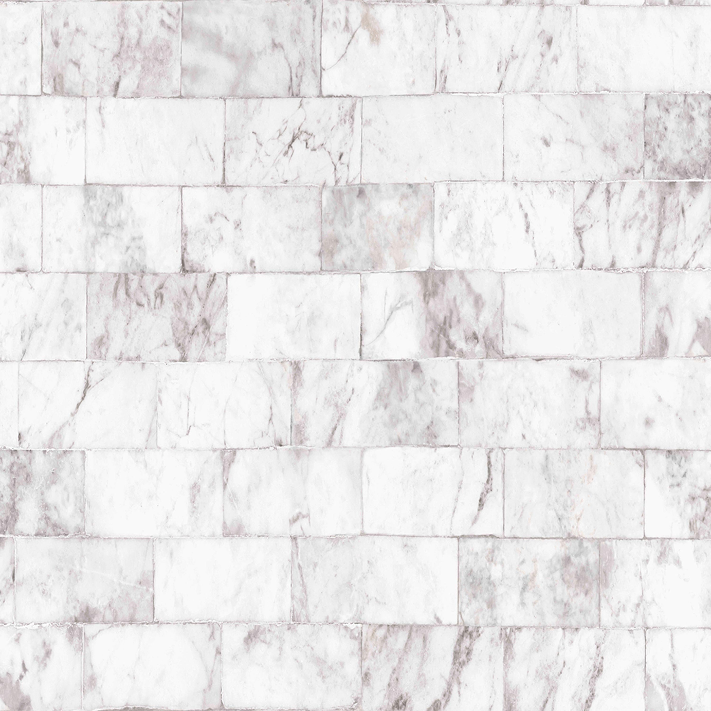 contour carrera grey marble brick wallpaper departments