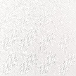 Graham & Brown Superfresco White Diagonal fan Paintable
