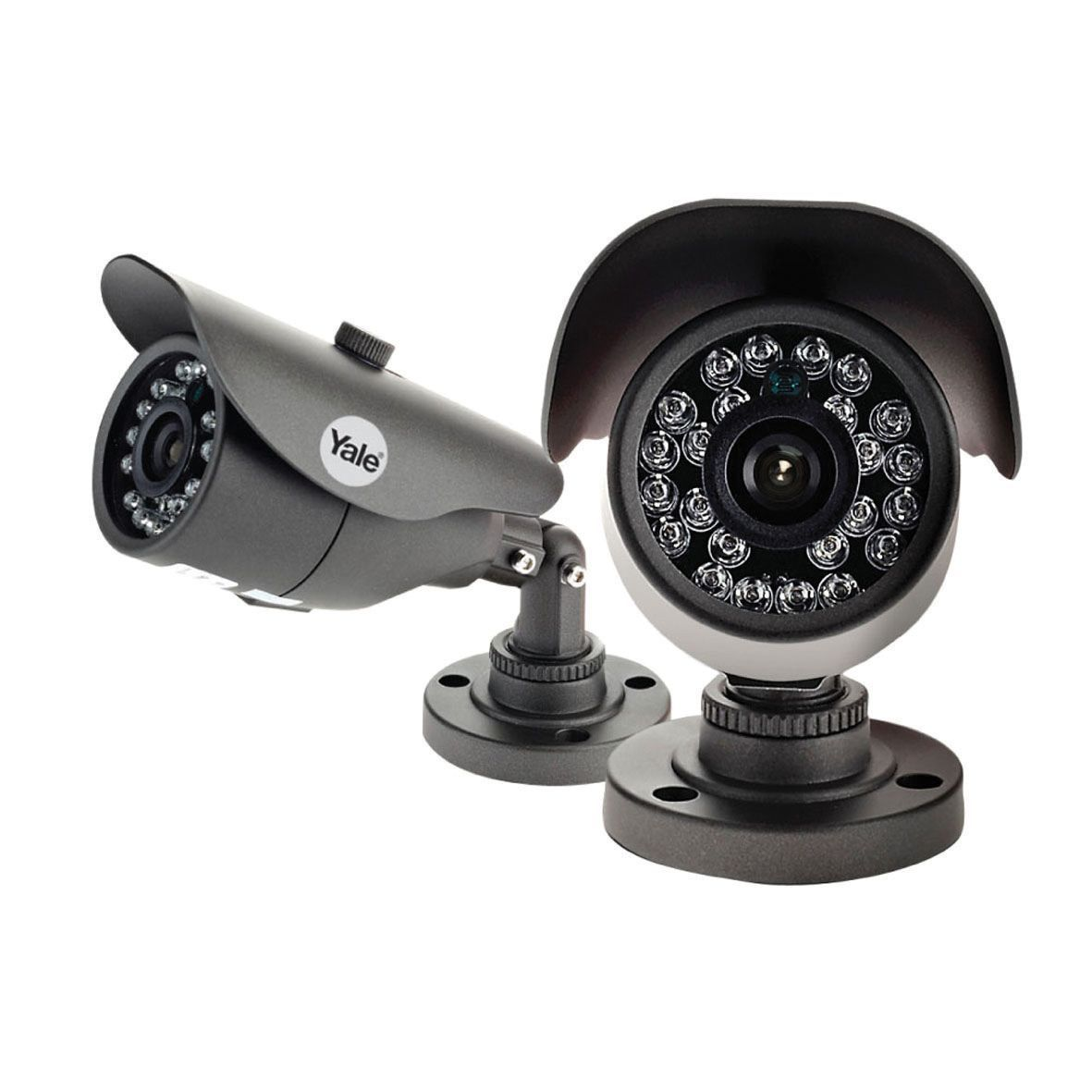 Garage Lights With Camera: Yale HDC-303G-2 HD Bullet CCTV Camera