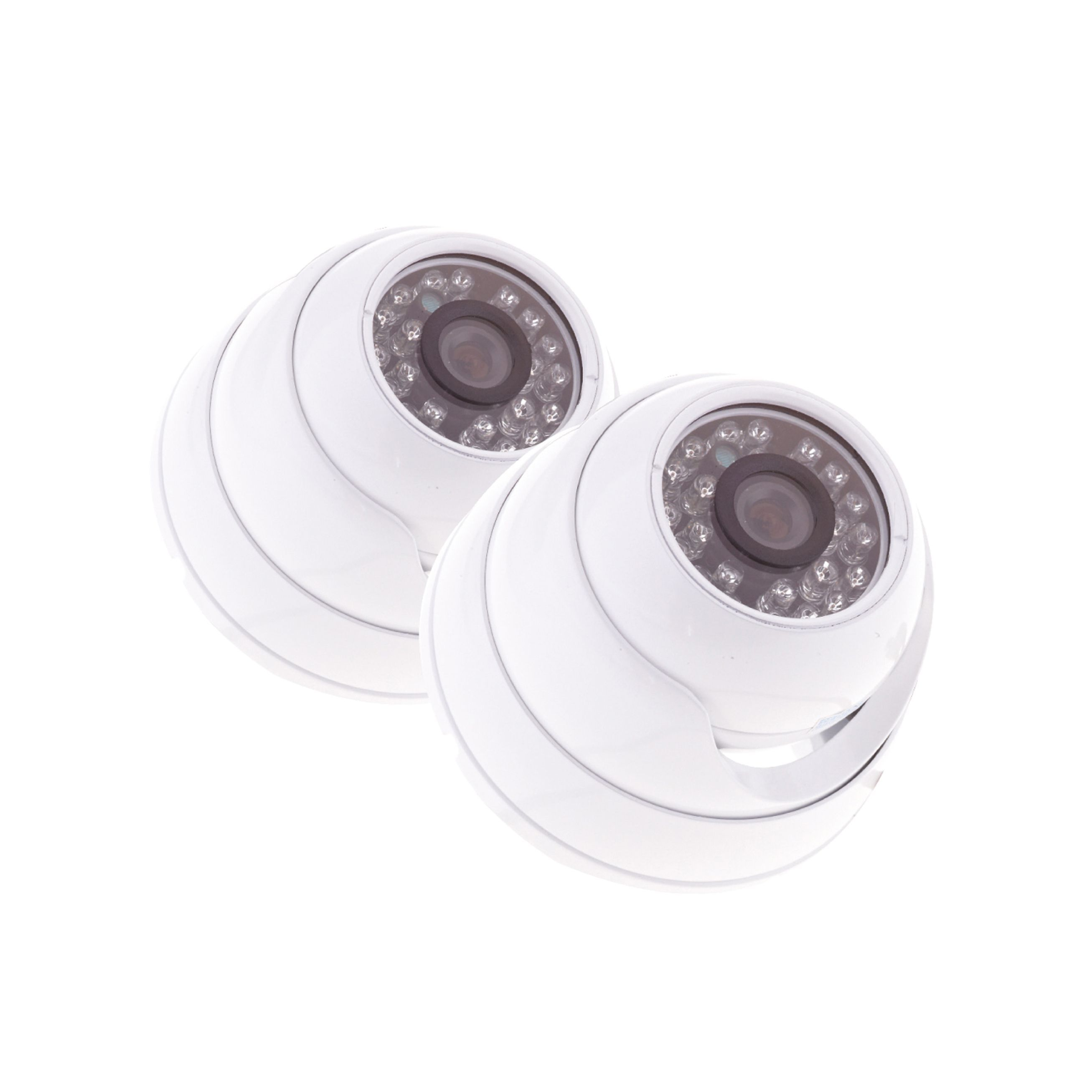 Yale Hd Wired Indoor Dome Camera Twin Pack Hdc 302w 2