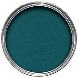 Hammerite Dark green Hammered effect Metal paint 750
