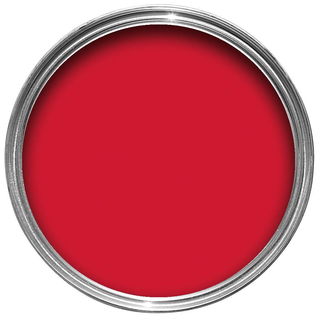 Hammerite Gloss Red High Sheen Garage Door Paint 750 Ml