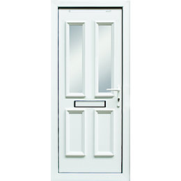 4 panel PVCu Glazed External Front door &