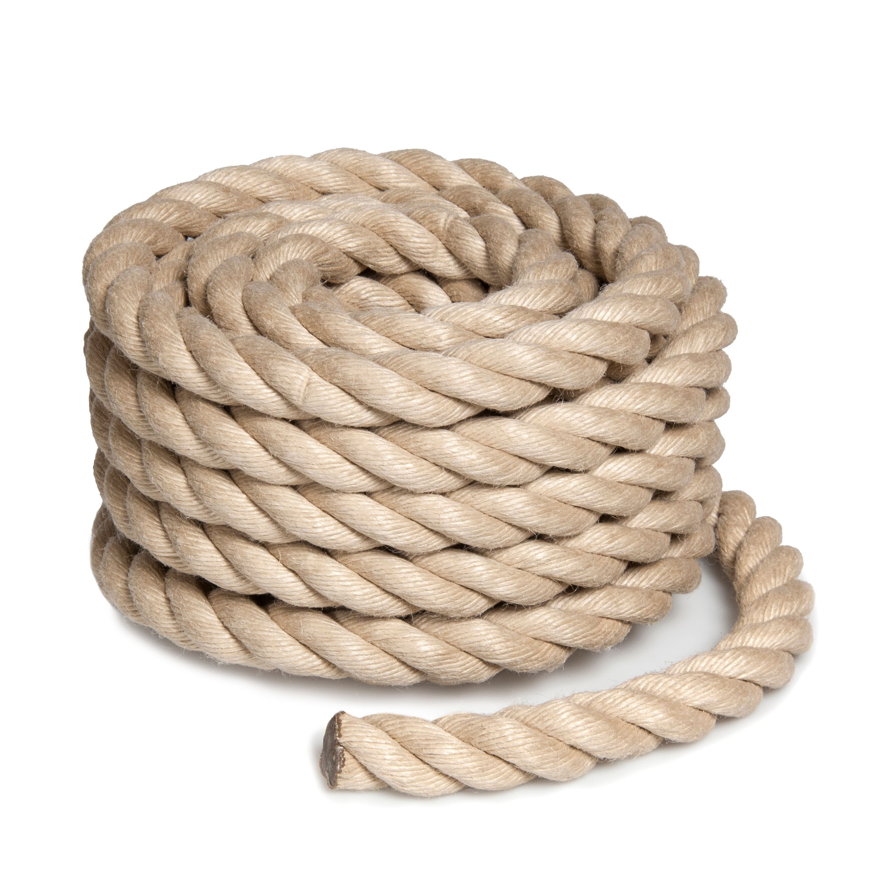 Heavy Duty Poly Hemp Rope 24mm X 10 M Departments