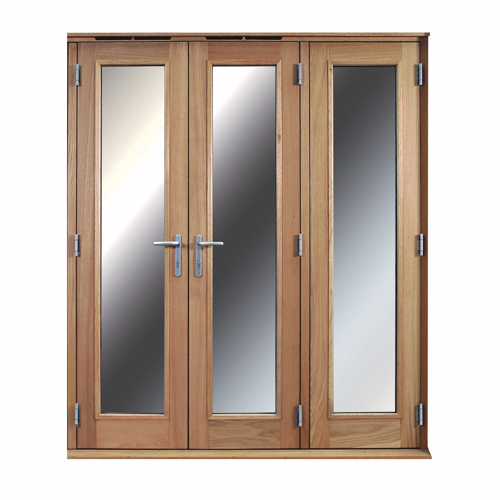 huge discount 82875 c944d 1 Lite Clear Glazed External Folding French Door, (H)2009mm (W)1790mm |  Departments | DIY at B&Q