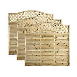 Blooma MOKCHA Decorative Fence Panel Fencing (W)1.8 M