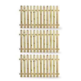 Blooma Mekong Palissade (W)1.8 M (H)1M, Pack of