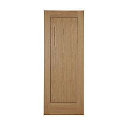 Flush 1 Panel Oak Veneer Unglazed Internal Standard