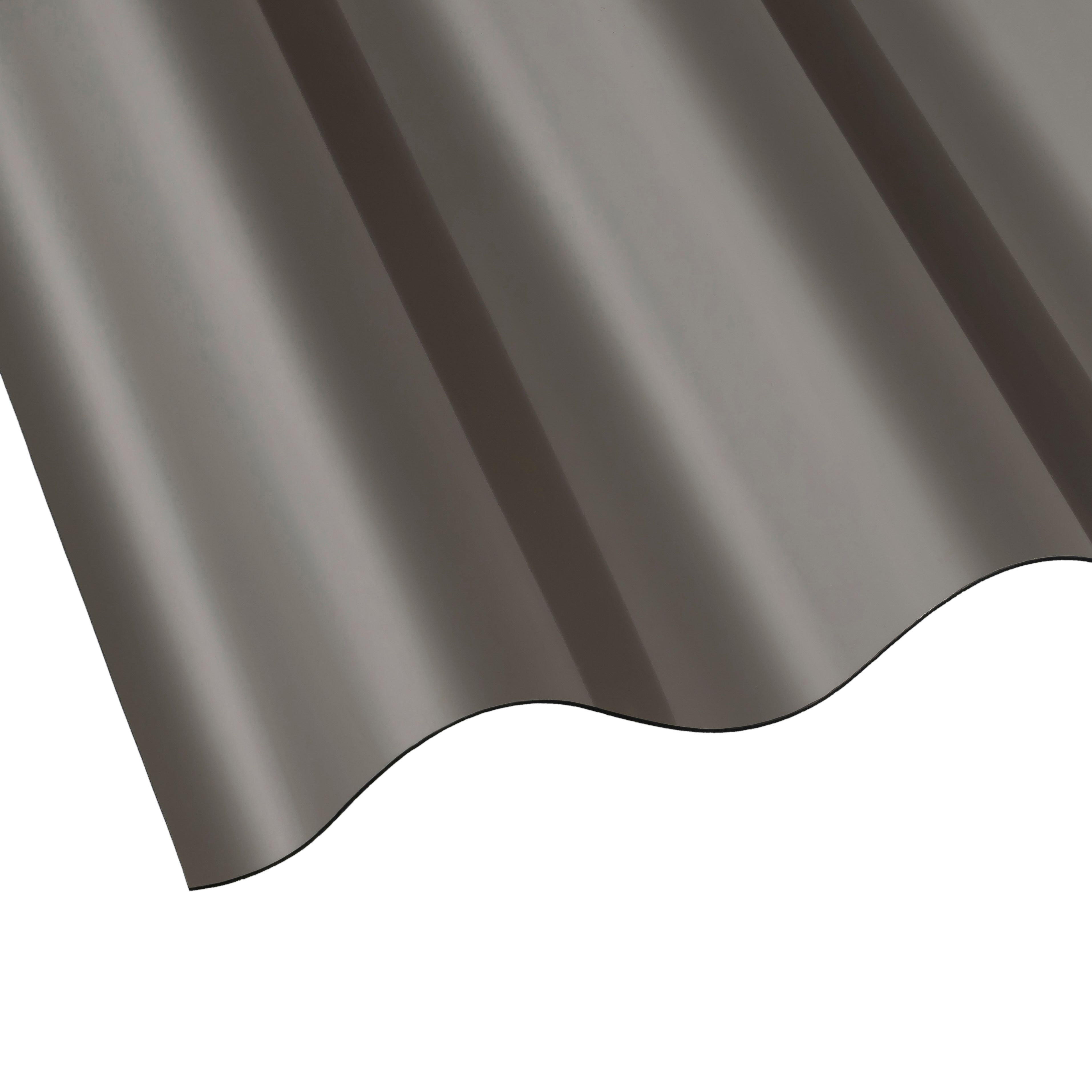 Bronze Polycarbonate Corrugated Roofing Sheet 3m X 848mm
