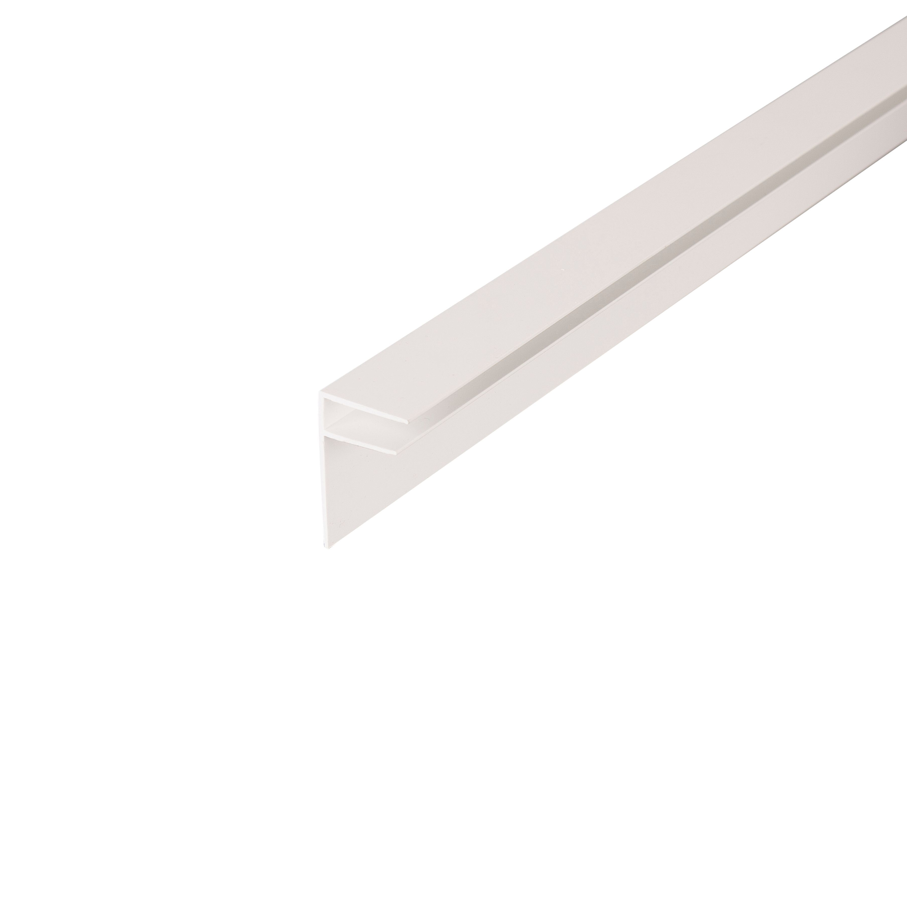 Side By Side Pictures >> Corotherm White Side Flashing (W)50mm | Departments | DIY at B&Q