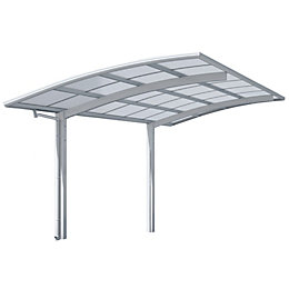 KCR Clear Car Canopy (H)1750mm (W)2700mm (L)5100mm