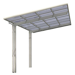 Ks Clear Car Canopy (H)1750mm (W)2700mm (L)5100mm