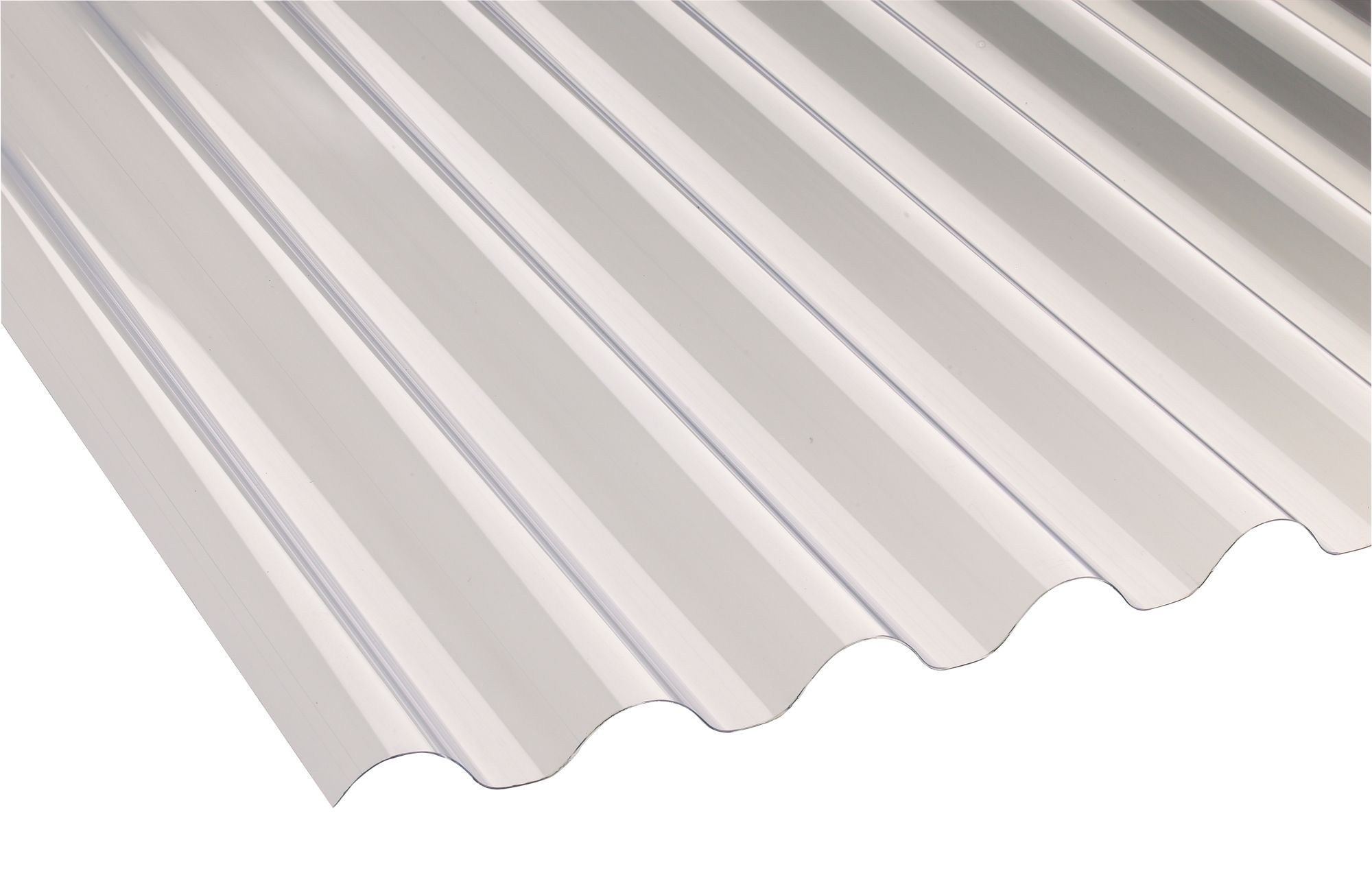Vinyl Roofing Sheets : Translucent pvc roofing sheet m mm departments