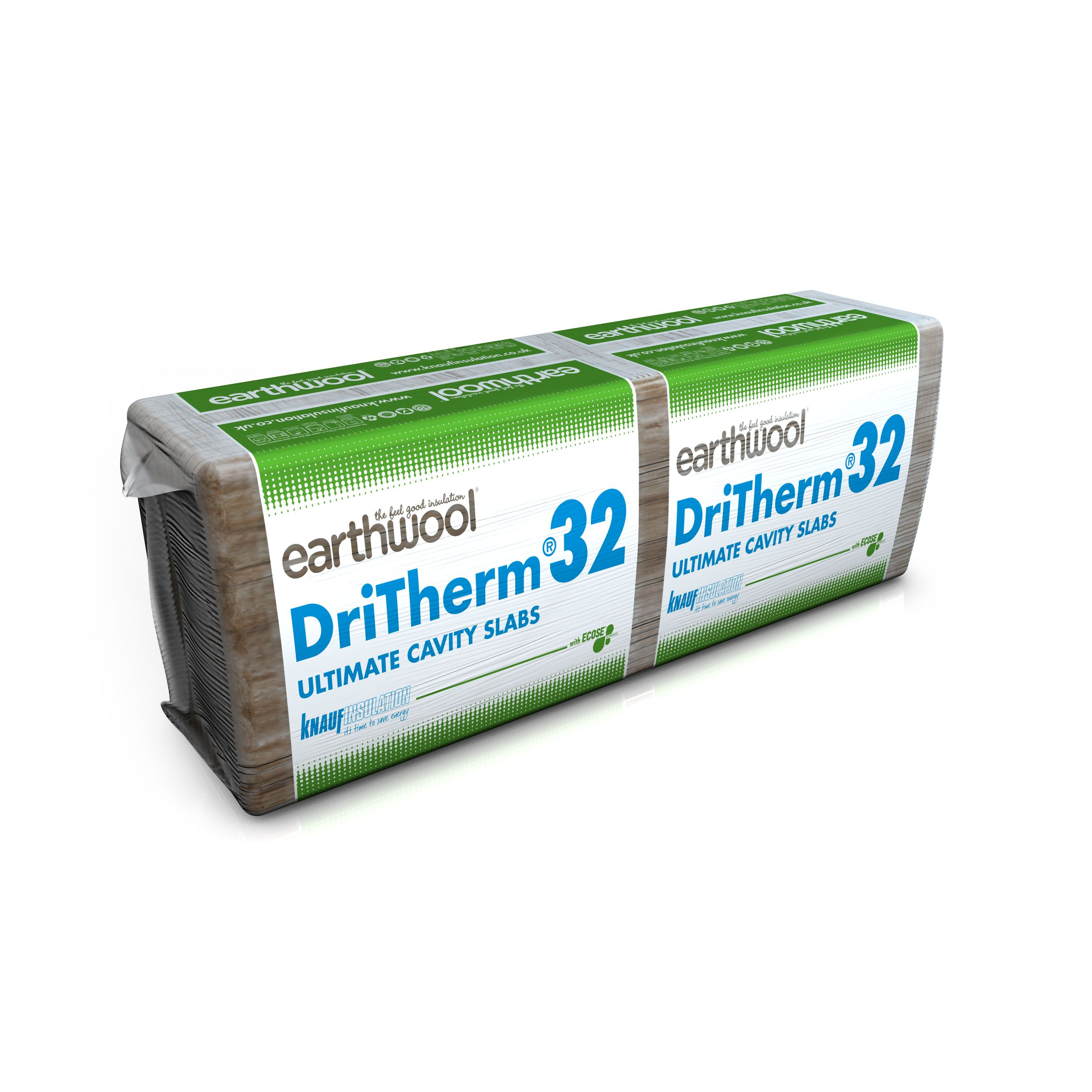 DRITHERM //ISOVER CAVITY INSULATION 100MM THICK X 8 PACKS