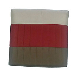 Chartwell Boston Red & cream Striped Quilted Bed