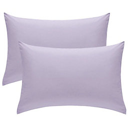 Chartwell Plain Housewife Wisteria Pillow Case, Pack of