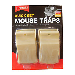 Rentokil Quick set Mouse trap 66.2g