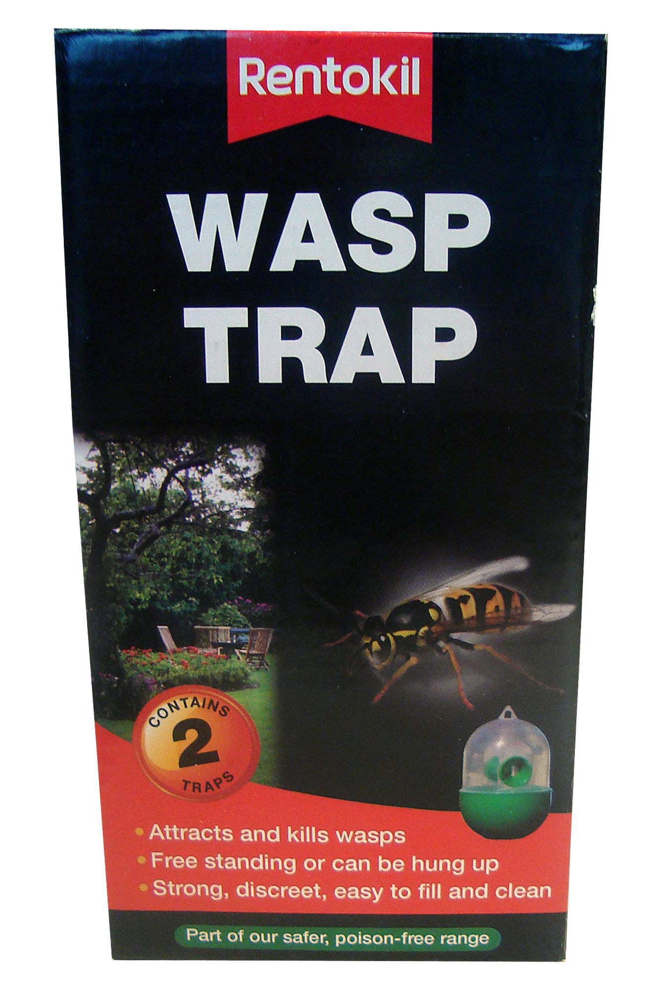 Rentokil Wasp Control Trap 120g Departments Diy At B Amp Q