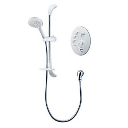 Triton T300SI White Satin Electric shower, 9.5 kW