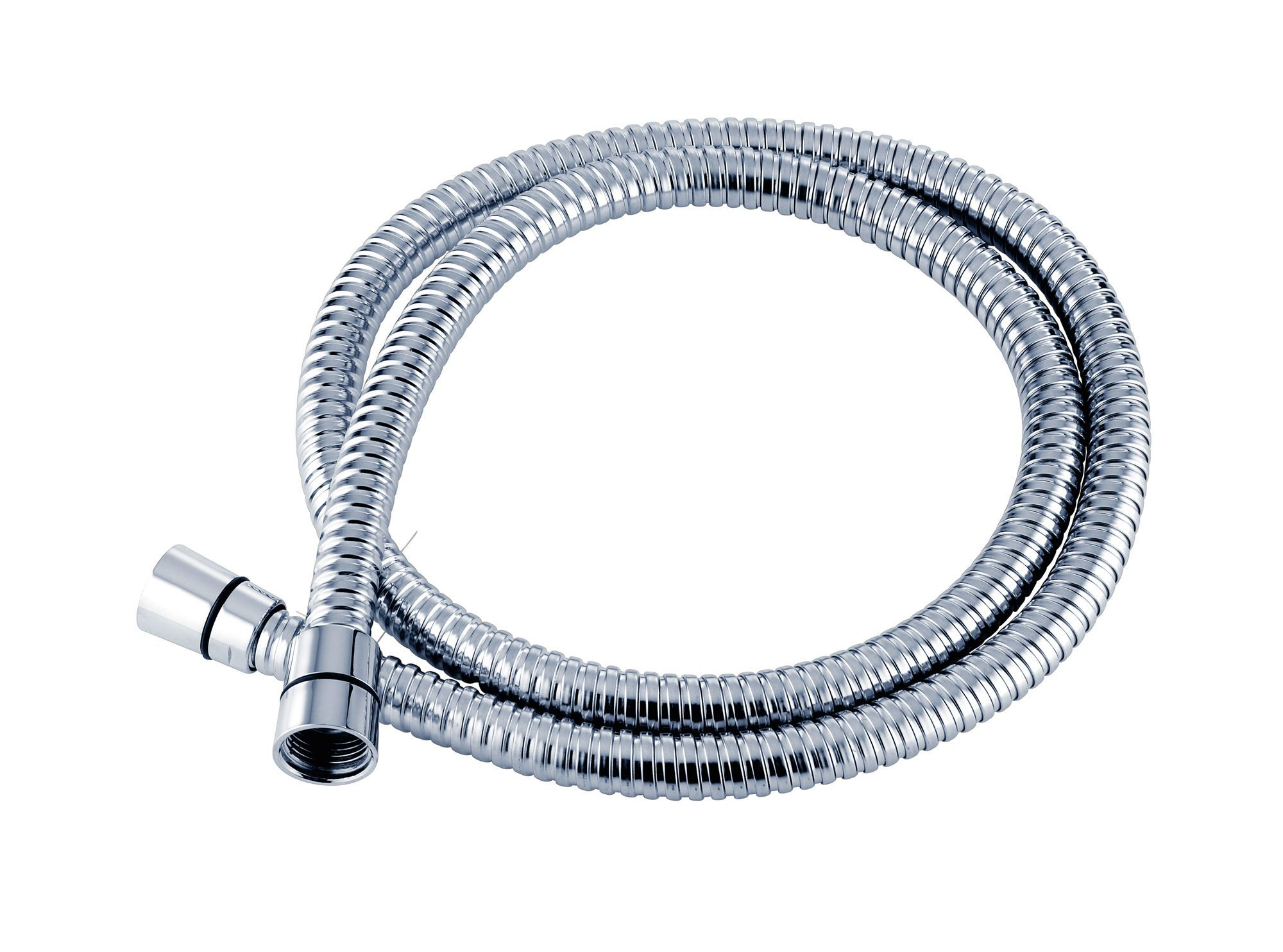 Triton Chrome Effect Stainless Steel Shower Hose 1 25m