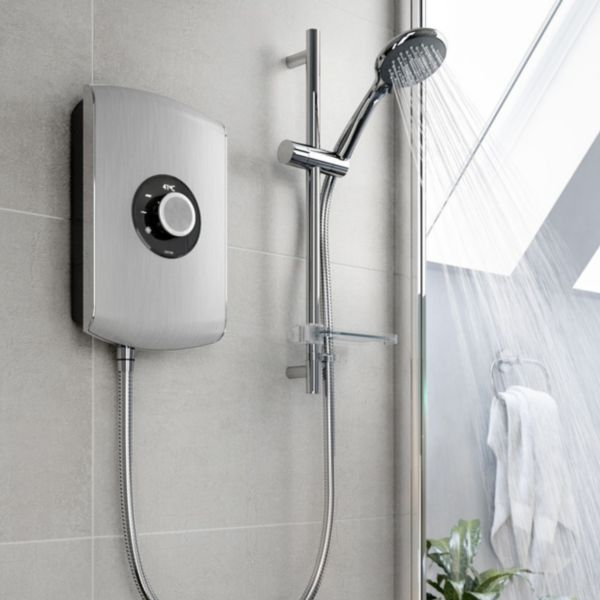 Showers | Mixer, Power & Electric Showers | DIY at B&Q