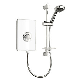 Triton Collections White Electric shower, 9.5 kW