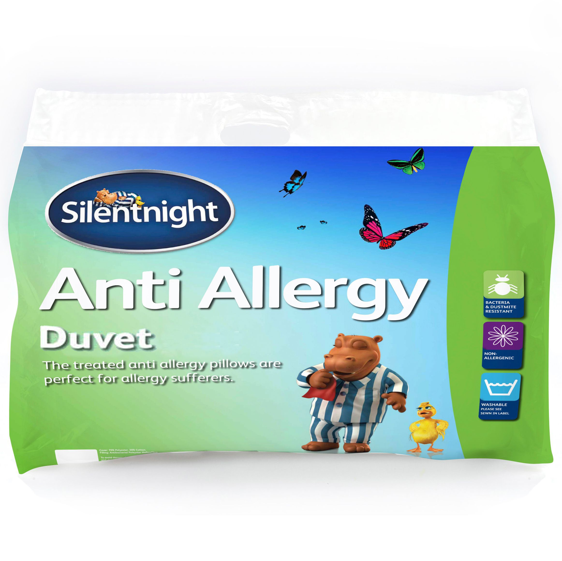 Silentnight 10 5 Tog Anti Allergy King Size Duvet Departments Diy At B Q
