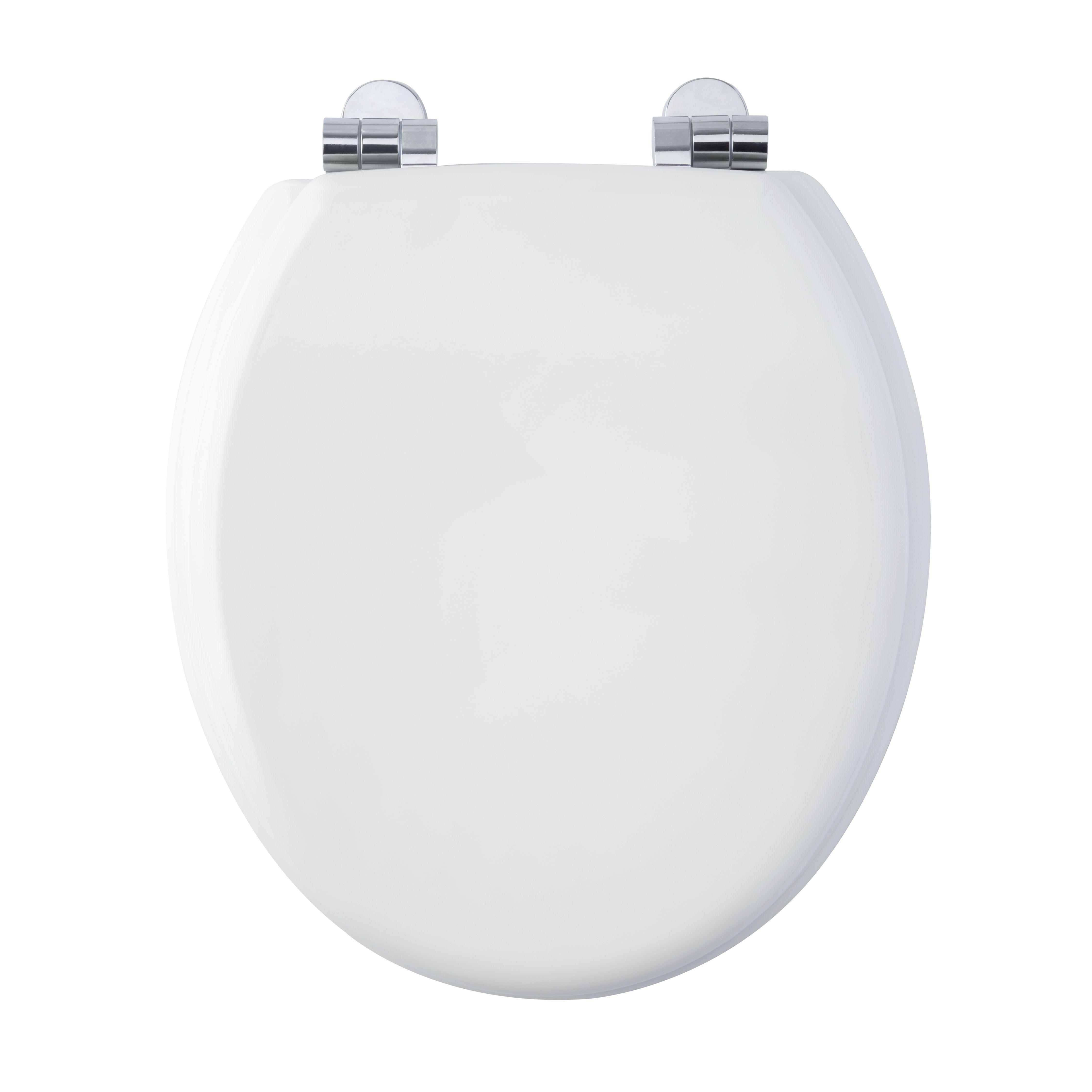 Bemis Hartford White Soft Close Toilet