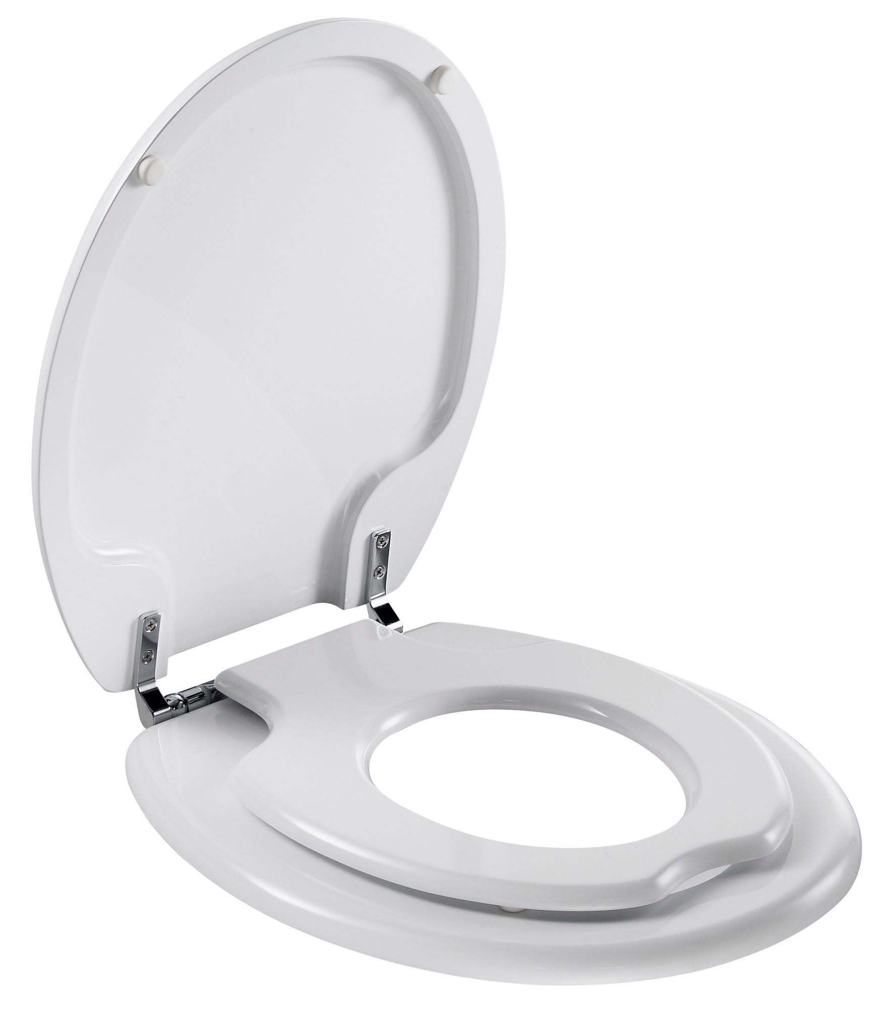 Bemis Dallas White Child & adult Toilet seat | Departments ...