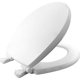 Bemis Boston White Soft Close Toilet Seat