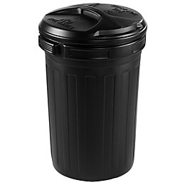 Blooma Black Outdoor bin