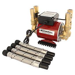Watermill 3 Bar Twin Impeller Regenerative Shower Pump