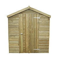 8x6 Forest Apex roof Tongue & groove Wooden Shed With assembly service