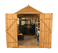 10x8 Forest Apex roof Overlap Wooden Shed With assembly service