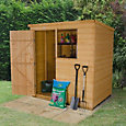 6x4 Forest Pent Shiplap Wooden Shed With assembly service