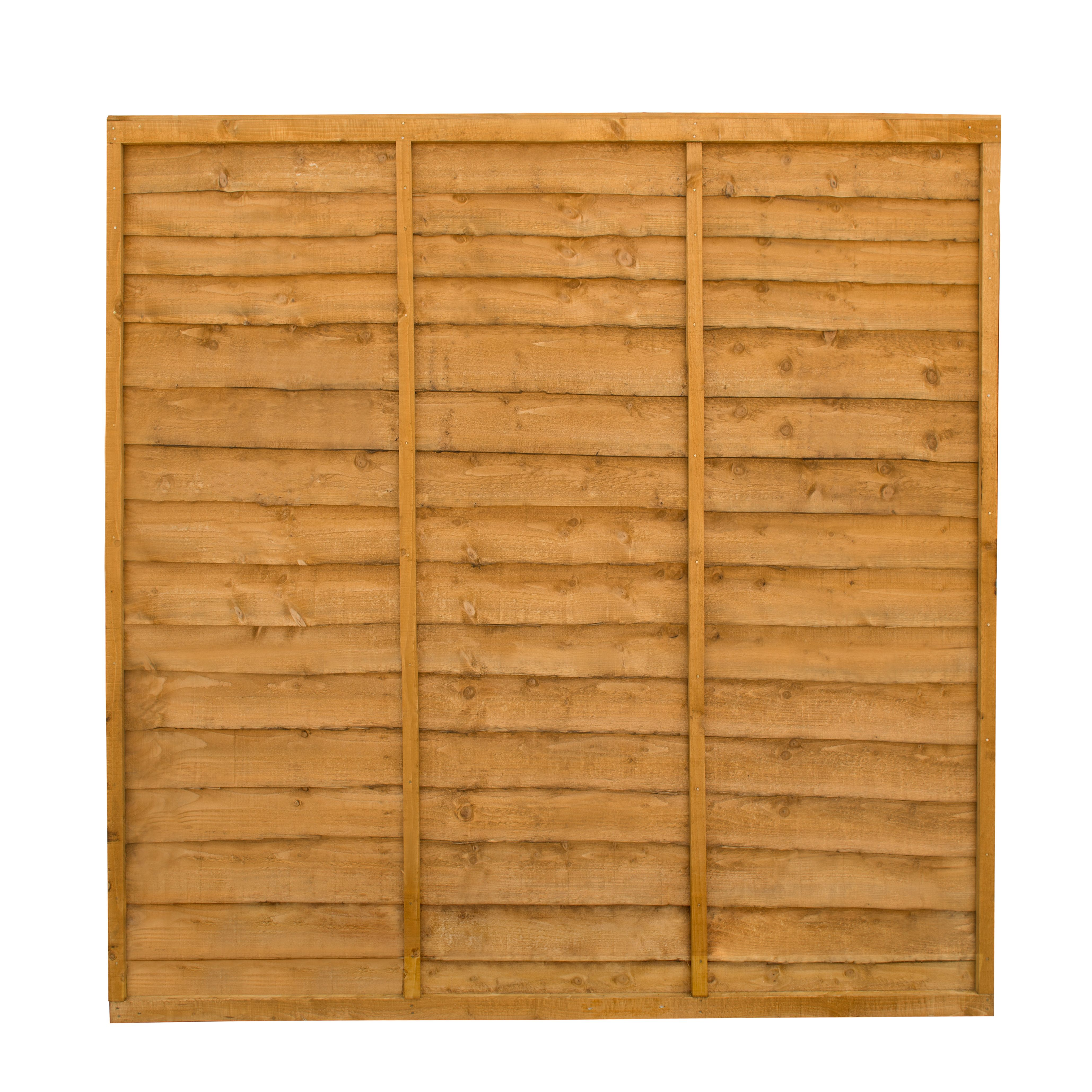 Traditional Wood Lap Fence Panel W 1 83 M H 1 83m Departments Diy At B Q