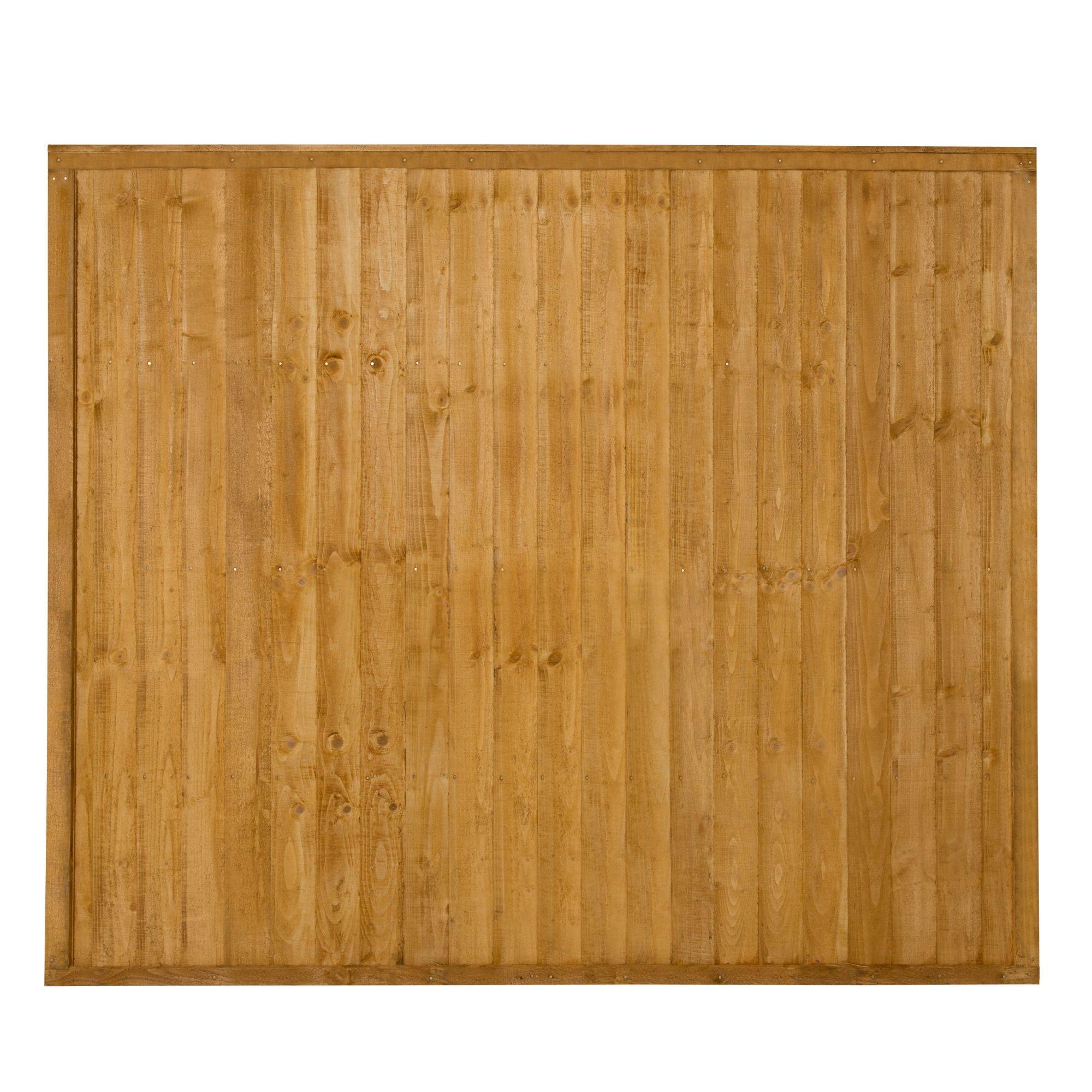 Closeboard Fence Panel W 1 83m H 1 52m Departments Diy At B Q
