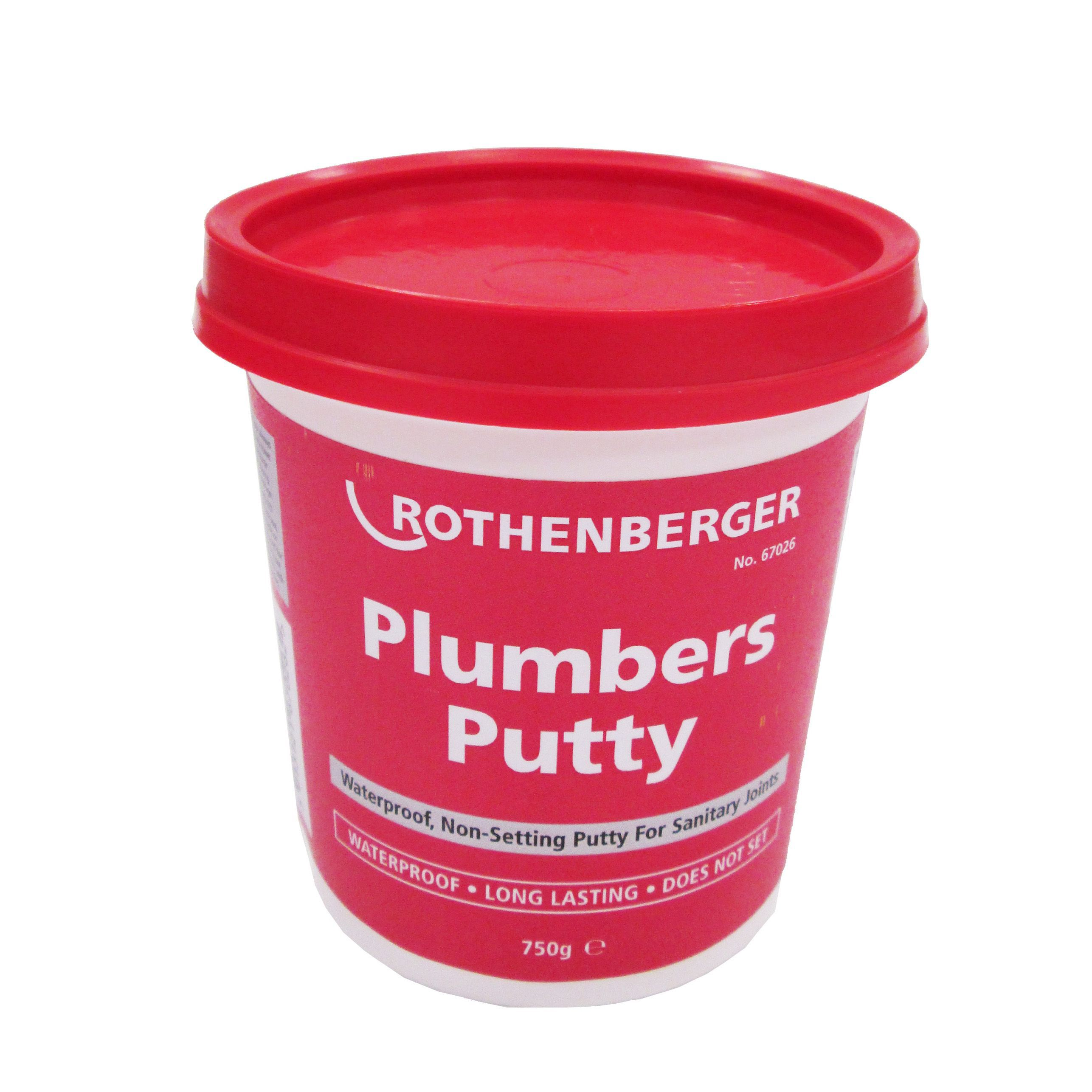 Rothenberger Plumbers putty 750 g | Departments | DIY at B&Q