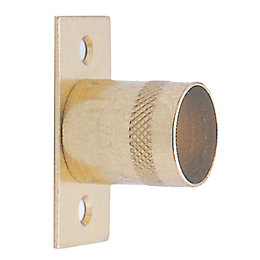 Colorail Brass Effect Straight Bracket (Dia)19mm, Pack of
