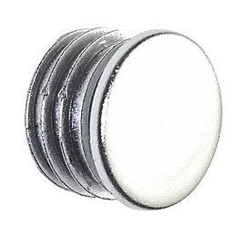 Colorail Plastic Chrome Effect End Cap, Pack of