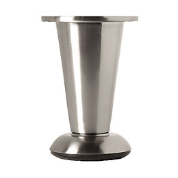 Rothley (H)103mm Chrome-Plated Furniture Leg