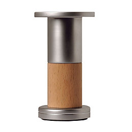 Rothley (H)122mm Beech Effect Satin Designer Leg