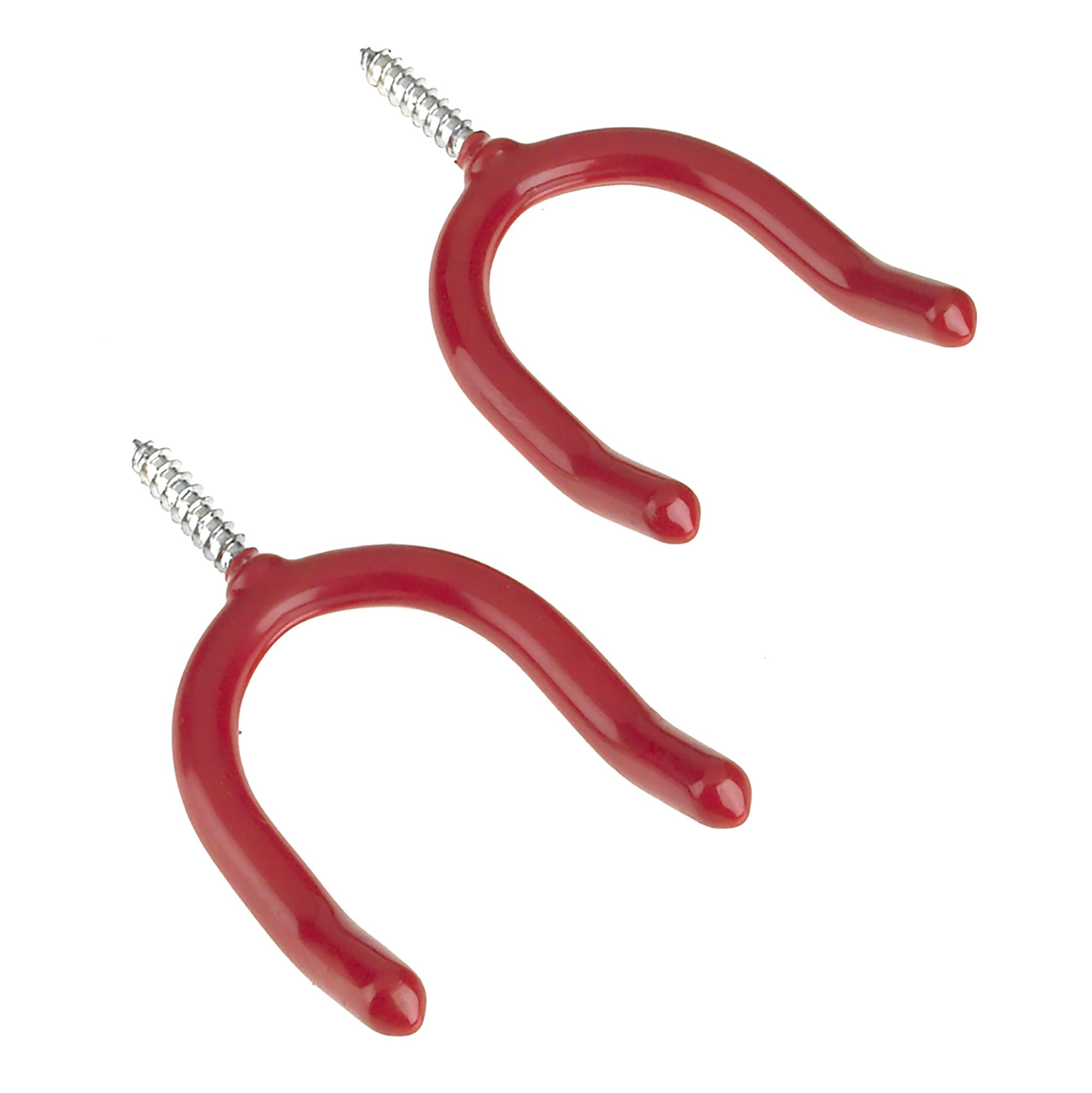 Rothley Red Steel Tool Storage Hooks Pack Of 2 Departments Diy At B Q