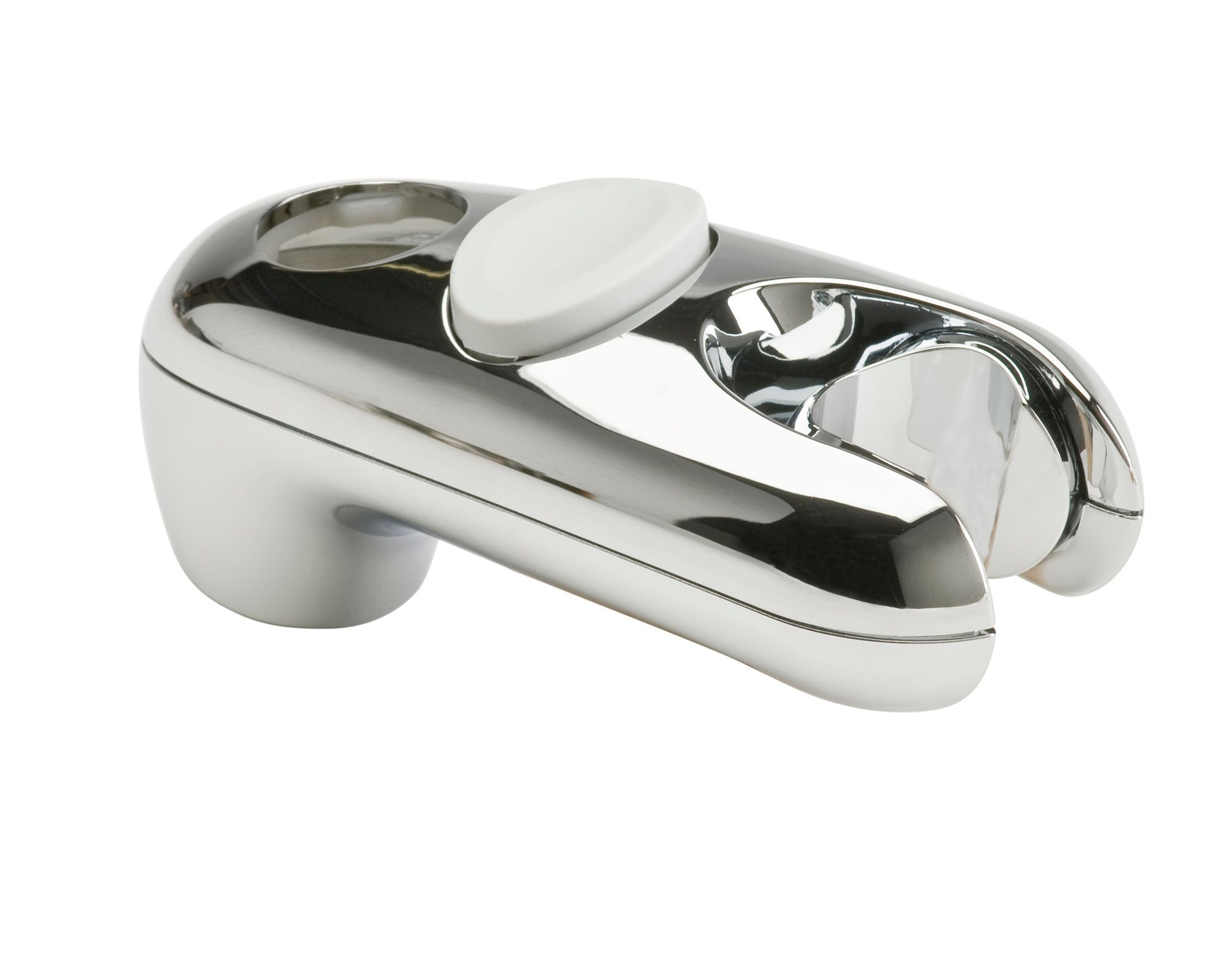 Mira Silver Shower Head Holder With Riser Rail Attachment
