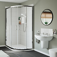 Mira Sport White Electric shower, 7.5 kW