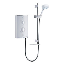 Mira Sport Thermostatic White White & chrome effect