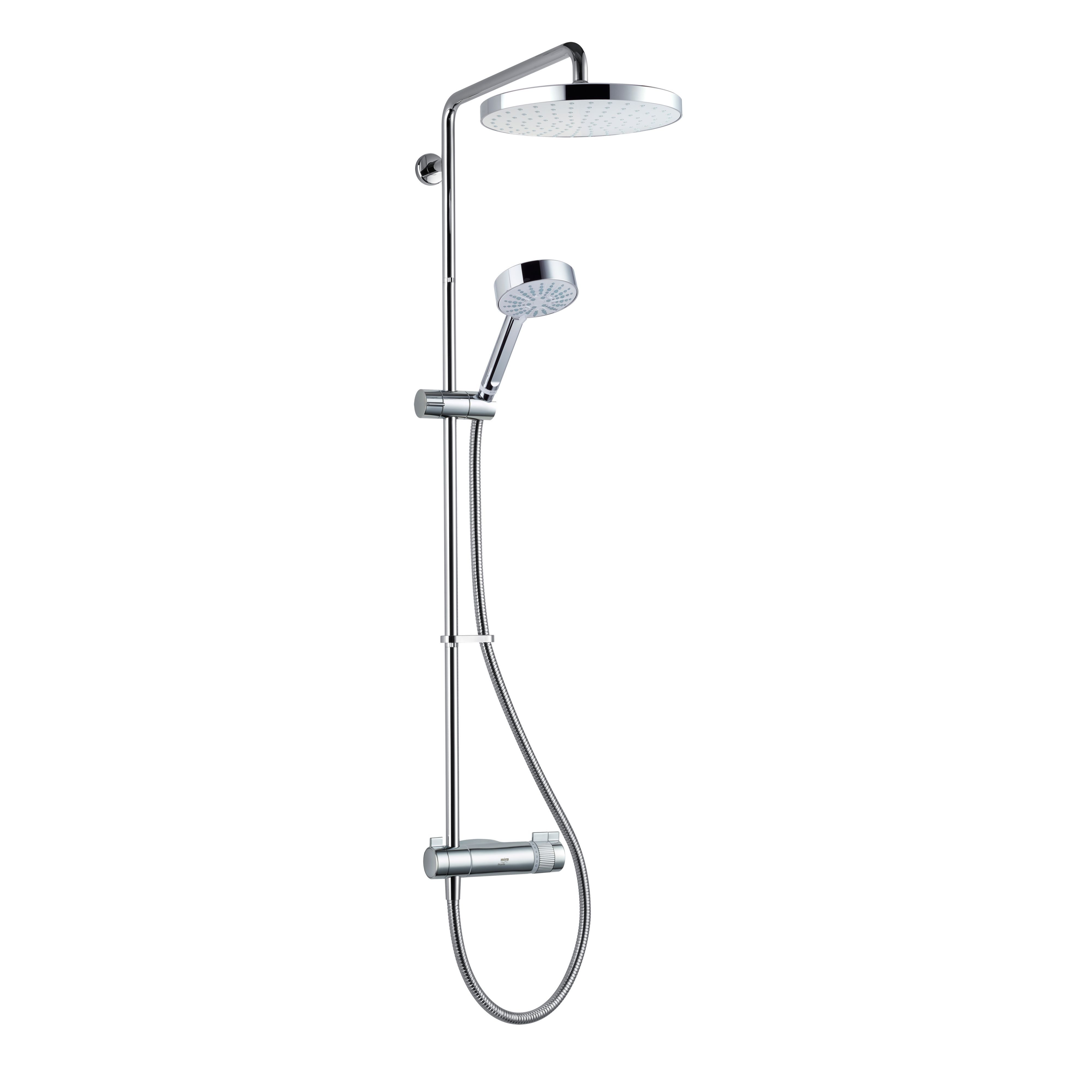 Kitchen Bar Stools Homebase: Mira Pronta+ ERD Chrome Thermostatic Bar Mixer Shower With