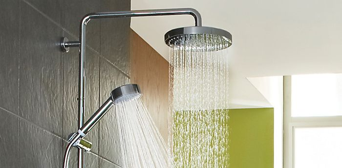 Thermostatic mixer shower